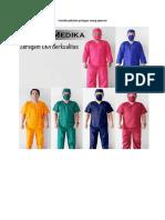 Contoh Pakaian Petugas Ruang Operasi