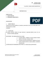Agentes Publicos - Improbidade Administrativa