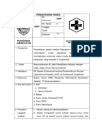 7.1.1.1 SOP Pendaftaran Jarak