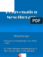 Mesotherapy Rejuvenation