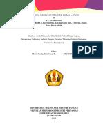 Proposal Pkl Danone