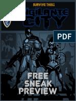 Survive This Vigilante City - Free Sneak Preview