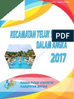 Kecamatan Teluk Sebong Dalam Angka 2017