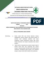 4.2.6.1 SK media komunikasi yang di gunakan untuk menangkap keluhan masyarakat.docx