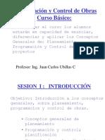 1. Curso Programacion y Control de Obras JHOAH
