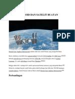 69 Asteroid Dan Satelit Buatan