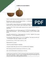 Medalha de Sao Bento