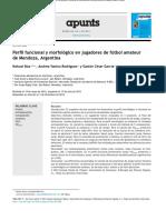 Perfil Funcional y Morfológico en Jugadores de Fútbol Amateur de Mendoza, Argentina