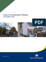 New Code of Construction Practice Jan 2016