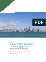 Port of Auckland Relocation NZIER Report