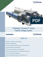 Materi Training Decanter Flottweg (PT Numalos Abadi)