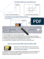 Manual para cortar SIM