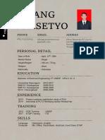 CV baru
