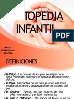Afecciones oseas en pediatria