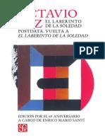 Paz_el Laberinto de La Soledad