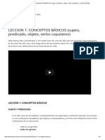 LECCIÓN 1_ CONCEPTOS BÁSICOS (sujeto, predicado, objeto, verbo copulativo) - LATÍN ONLINE.pdf