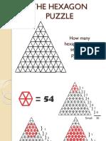 The Hexagon Puzzle