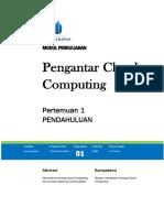 Pengantar Cloud Computing TI
