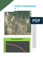 2.Parametros Geomorfologicos de Cuencas y Microcuencas