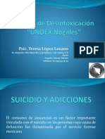 Suicidio y Adicciones