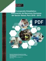 Compendio Estadistico MINSA 2010-2016