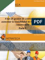José Manuel Mustafá - 4 Tips de Gestión de Contratos Para Aumentar La Rentabilidad de La Compañía Constructora, Parte I