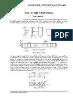 Tension field in plate girder.pdf