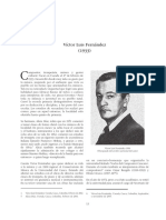 Biografia Victor Luis Fernandez