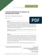 SIMP.5 Caracteristicas Basicas Do Transtorno de Ansiedade Generalizada
