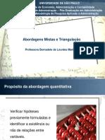 Abordagens Mistas _Triangulação Resumo