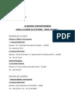 Liste cliniques conventionnées Tiers Payant .pdf