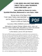 Fortify Report Rebuttal