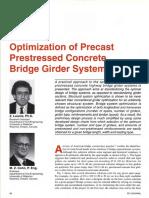 Optimization of Girder