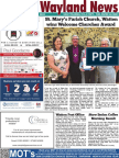 The Wayland News August 2018