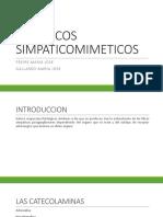 simpaticomimeticos farmaco