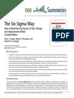 Six Sigma Summary