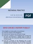 Notarial Practice!!