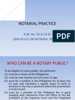 Notarial Practice!!