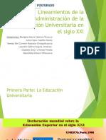 Grupo4 Lineamientos de La Administracion de La Educacion Universitaria en El Siglo Xxi_final
