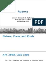 1. Agency - Intro