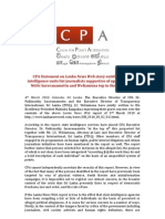 CPA Statement - Lanka News Web Report
