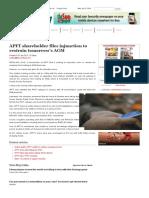 APFT shareholder files injunction to restrain tomorrow's AGM.pdf
