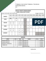 Jadual Waktu Pengajaran Waktu Praktikum 2018