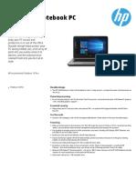 HP 348 G4 Comercial Notebook