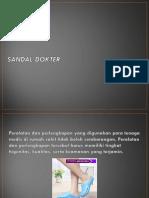 Peta Proses Operasi Sandal Pria, 0812.3230.8116
