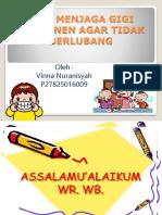 Tips Menjaga Gigi Permanen Agar Tidak Berlubang