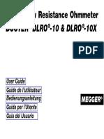 Dlro 10 10x User Manual