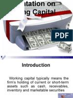 Presentation on Working Capital