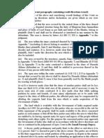 GIST of the FINDINGS by Sudhir Agarwal - Ayodhya Verdict