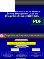 Target and Benefit of Lowering Blood Pressure Through NO and B3 Agonist